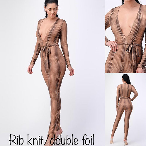 Double foiled romper