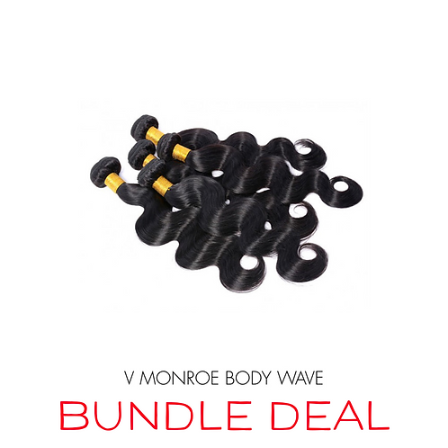 BODY WAVE THREE BUNDLE & CLOSURE DEAL