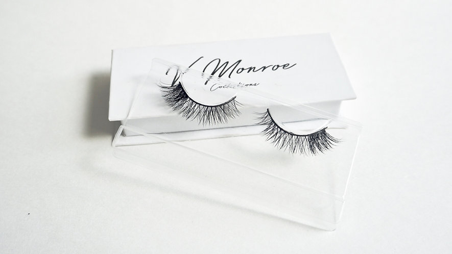 Faux Mink Trainer Lashes-QUEEN BEE