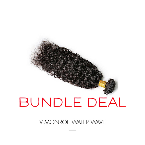 WATER WAVE THREE BUNDLE & CLOSURE DEAL
