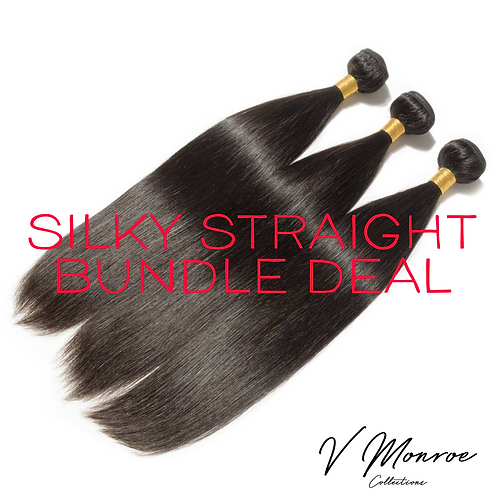 SILKY STRAIGHT THREE BUNDLE DEAL