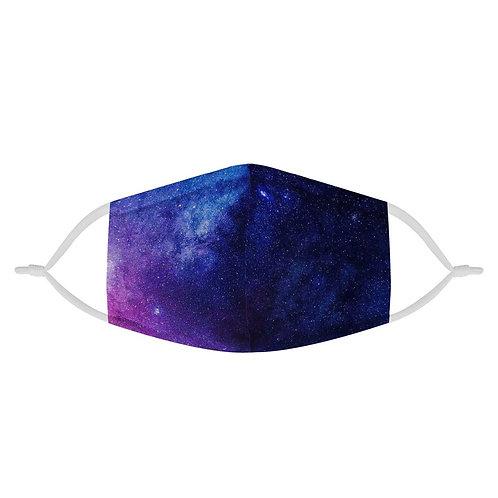 Starry Galaxy Dreams | 100% Soft Pima Cotton Triple Layer Face Mask