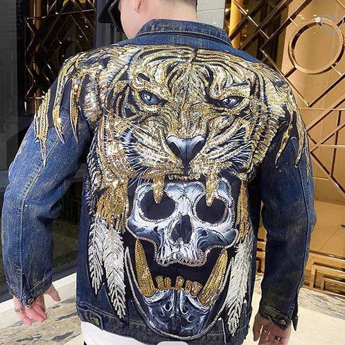 Men's Lions Denim Jacket