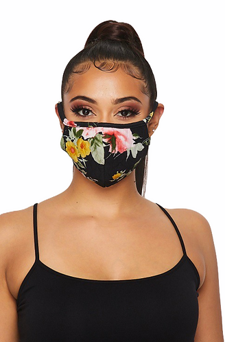 Quilted Double Layered Filter Face Mask
