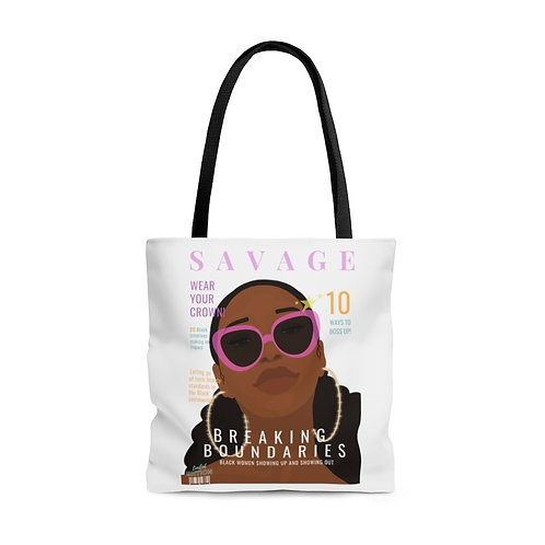 Savage Tote Bag (White)