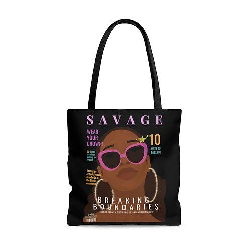 Savage Tote Bag (Black)