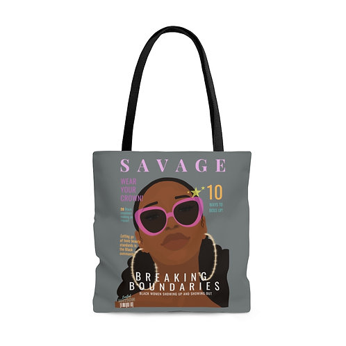 Savage Tote Bag (Gray)