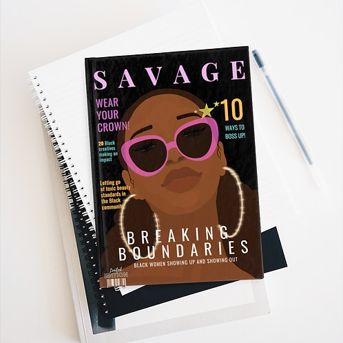 Savage Hard Cover Notebook