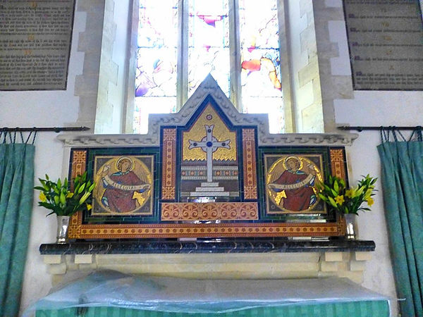Wooton Fitzpaine Church Altar