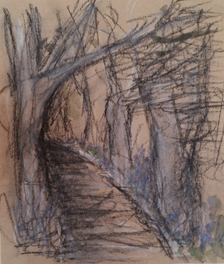 Westover charcoal sketch
