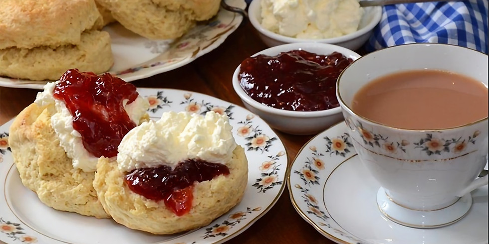 Cream Tea at Wootton Fitzpaine Manor
