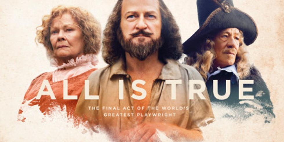 Film Night - All Is True (2019) Historical Biopic