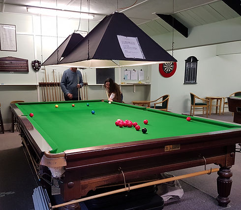 Wootton Fitzpaine Snooker Table