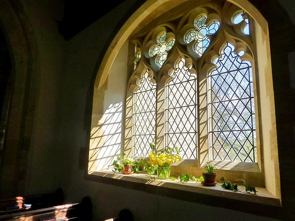 Wooton Fitzpaine Church window