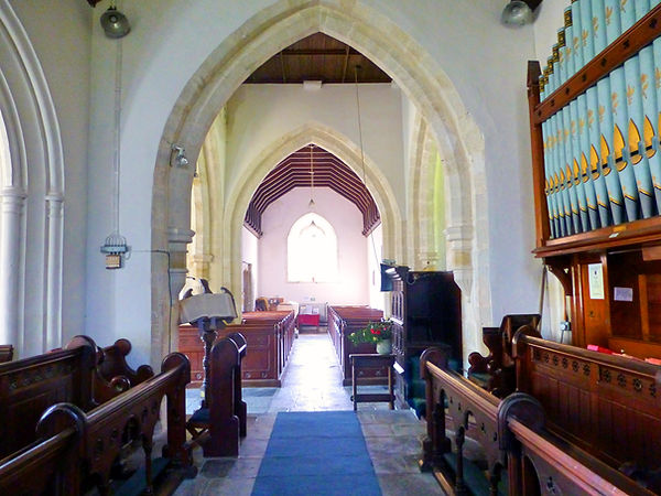 Wootton Fitzpaine Church Nave