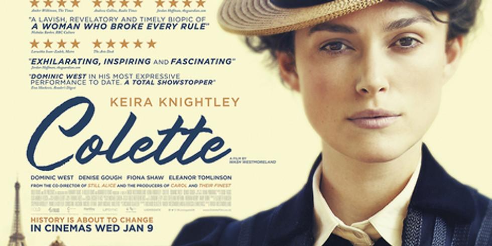 Film Night - Colette (2018) historical biographical drama film