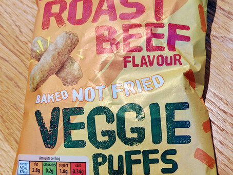 Free from review - ALDI's Roast beef flavour veggie puffs (gf/vegan)
