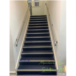 Cleaned Stairs