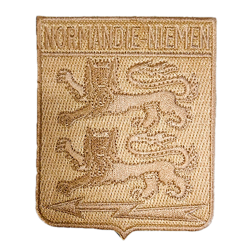 Patch Normandie-Niemen Edition sable