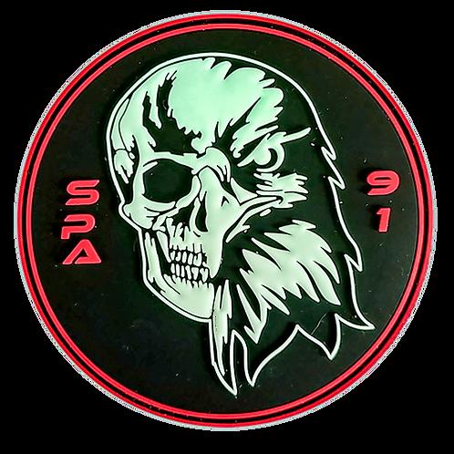 Patch SPA91 Skull PVC