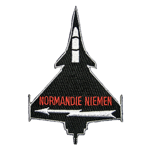Patch Rafale noir Normandie-Niemen