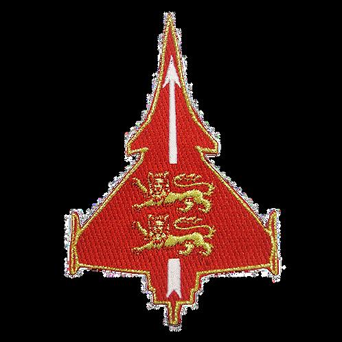Patch Rafale rouge Normandie-Niemen