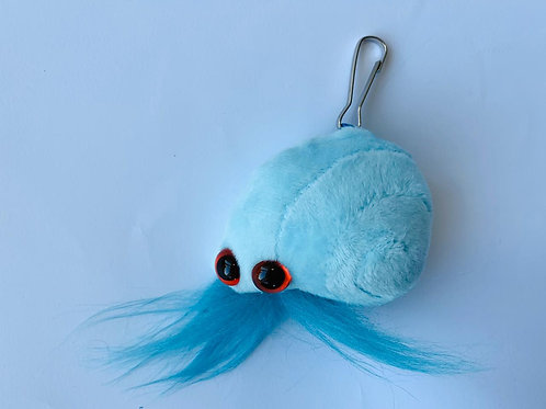 Mollusk keychain: Nature Belongs Here, Just Take The Memories