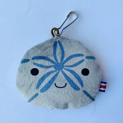 Sea Biscuit keychain: Nature Belongs Here, Just Take the Memories