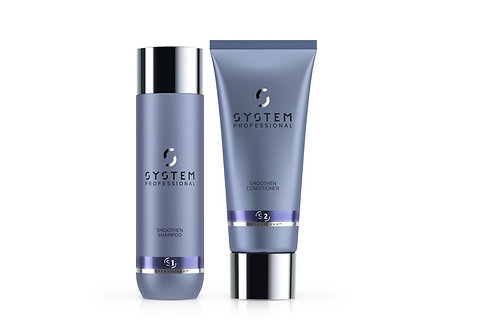 System Professional Smoothen Shampoo & Conditioner (250ML, 200ML)