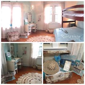 Girls Room Makeover Shabby Chic Cottage
