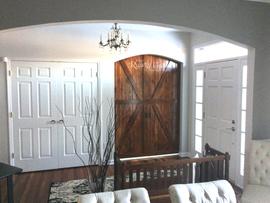 custom barn doors by Susie Myres The Rus