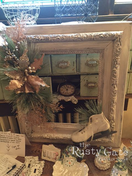 Antique Frame Decorating Ideas by Susie