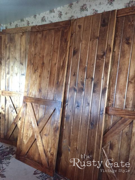 Hand Crafted Barn Doors Custom Order by