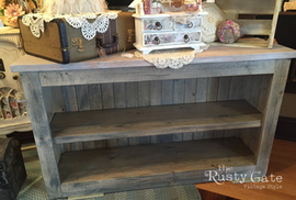 Farmhouse Console Hand crafted by Susie