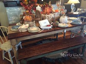 Custom Farm Table by Susie Myres The Rus
