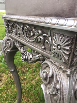 How to paint antique furniture by Susie