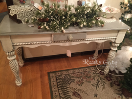Chalk Painted French Country Style Hall