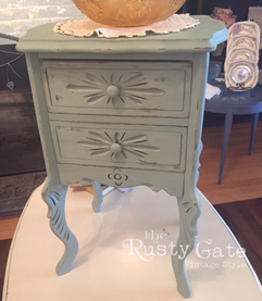 French Country Style Sewing Cabinet by S