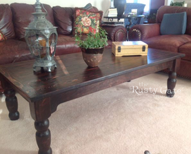 Custom Crafted Farmhouse Coffee Table by