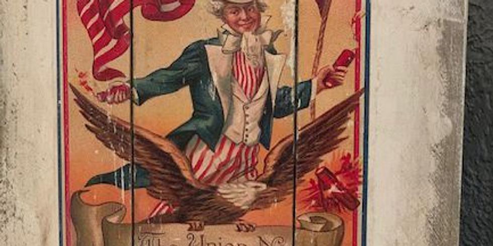 Nostalgic Patriotic Sign Class Sun 6/23 3-6pm