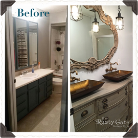 Bathroom Makeover French Provincial Susi