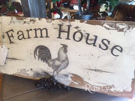 Image Transfer farmhouse sign by Susie M