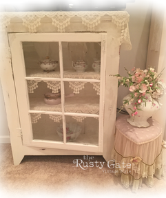 Shabby Chic Hand Crafted Cabinet by Susi