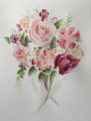 Paw Print Bouquet