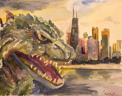 Godzilla in Chicago