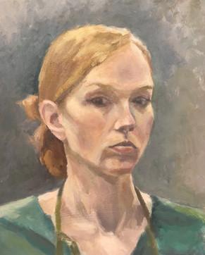 Self Portrait in Green