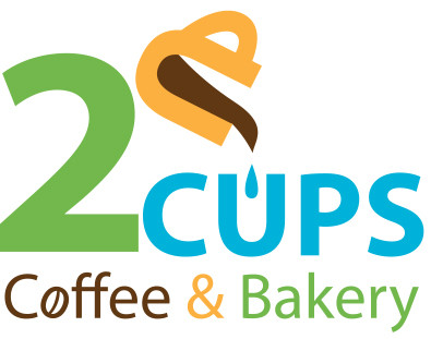 2 Cups Coffee Logo