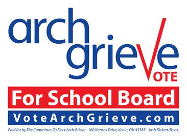 Vote Arch Grieve