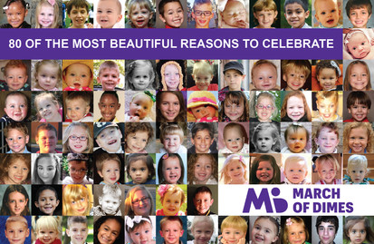 March of Dimes Post Card