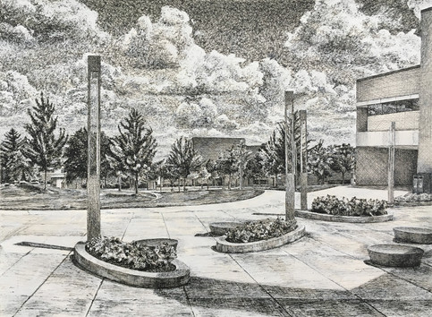Wright State Landscape